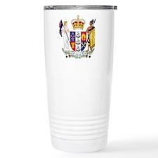 New Zealand Coat Of Arms Travel Mug