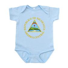 Nicaragua Coat Of Arms Infant Bodysuit
