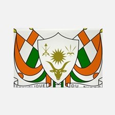 Niger Coat Of Arms Rectangle Magnet