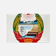 North Korea Coat Of Arms Rectangle Magnet