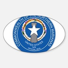 """""""Northern Mariana Islands Coat Of Arms"""" Decal"""