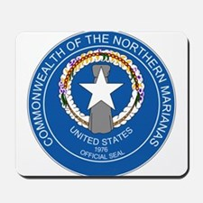 """""""Northern Mariana Islands Coat Of Arms"""" Mousepad"""