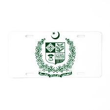 Pakistan Coat Of Arms Aluminum License Plate