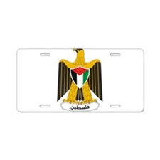 Palestine Coat Of Arms Aluminum License Plate