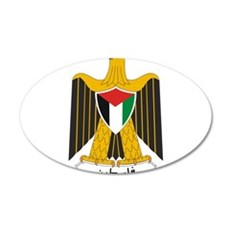 Palestine Coat Of Arms Wall Decal