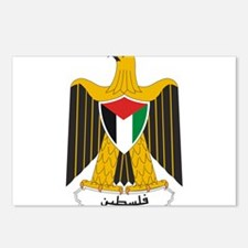 Palestine Coat Of Arms Postcards (Package of 8)