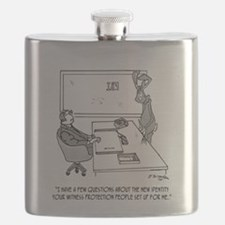 Witness Cartoon 1727 Flask