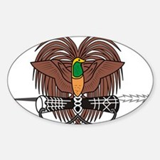 Papua new Guinea Coat Of Arms Decal