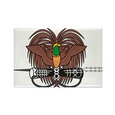 Papua new Guinea Coat Of Arms Rectangle Magnet