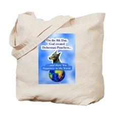 Cute Doberman pinscher Tote Bag