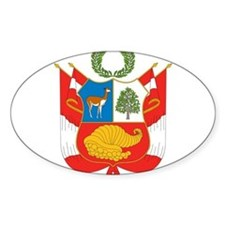 Peru Coat Of Arms Decal