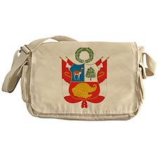 Peru Coat Of Arms Messenger Bag