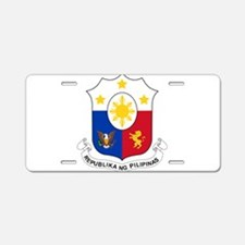 Philippines Coat Of Arms Aluminum License Plate