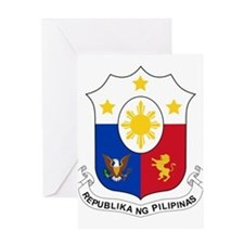 Philippines Coat Of Arms Greeting Card