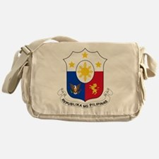 Philippines Coat Of Arms Messenger Bag