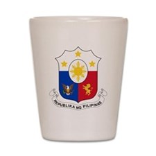 Philippines Coat Of Arms Shot Glass