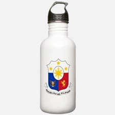 Philippines Coat Of Arms Water Bottle