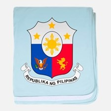 Philippines Coat Of Arms baby blanket