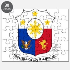 Philippines Coat Of Arms Puzzle