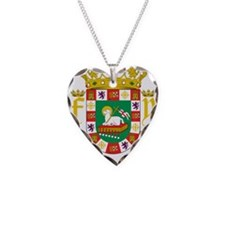 Puerto Rico Coat Of Arms Necklace