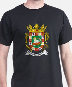 Puerto Rico Coat Of Arms T-Shirt