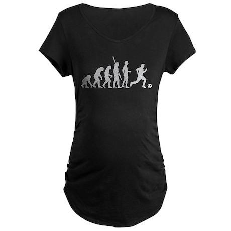 Evolution Fussball weiss.png Maternity Dark T-Shir