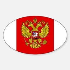 Russia Coat Of Arms Sticker (Oval)