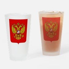 Russia Coat Of Arms Drinking Glass