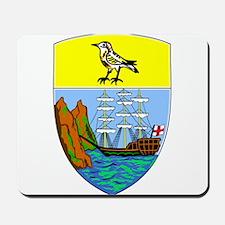 Saint Helena Coat Of Arms Mousepad