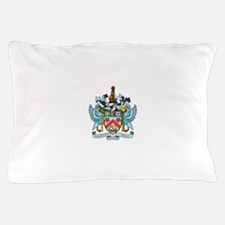 Saint Kitts Nevis Coat Of Arms Pillow Case