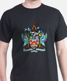 Saint Kitts Nevis Coat Of Arms T-Shirt
