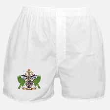 Saint Lucia Coat Of Arms Boxer Shorts