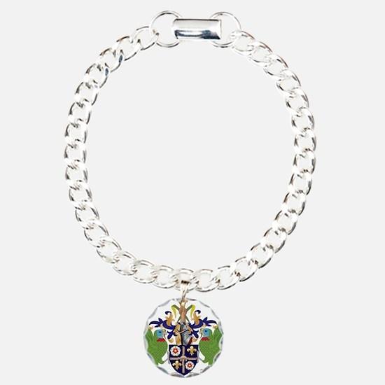 Saint Lucia Coat Of Arms Bracelet