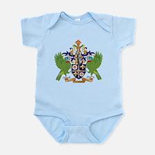 Saint Lucia Coat Of Arms Infant Bodysuit