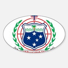Samoa Coat Of Arms Decal