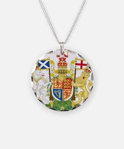 Scotland Coat Of Arms Necklace
