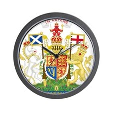 Scotland Coat Of Arms Wall Clock