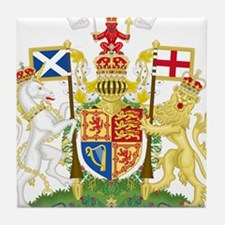 Scotland Coat Of Arms Tile Coaster