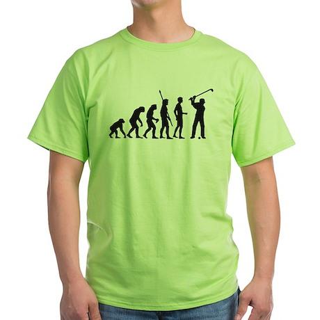 Evolution Golf C 1c.png Green T-Shirt