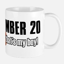 Basketball Parent Of Number 20 Mug