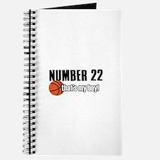 Basketball Parent Of Number 22 Journal
