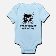 Schrodinger Set Me Up Infant Bodysuit