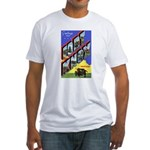 Fort Knox Kentucky (Front) Fitted T-Shirt