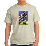 Fort Knox Kentucky (Front) Ash Grey T-Shirt