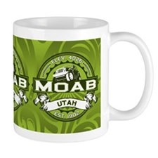 Moab Green Small Mug