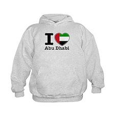 I Love Abu Dhabi Hoodie