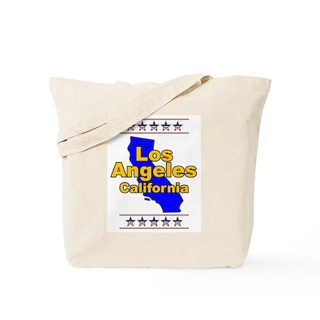 Los Angeles (LA) Tote Bag