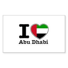 I Love Abu Dhabi Decal