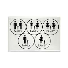 Family black Magnets