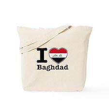 I Love Baghdad Tote Bag